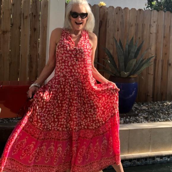 3ce1d65f9e3 Hidden Alley Bohemian Maxi Dress